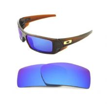 NEW POLARIZED CUSTOM ICE BLUE LENS FOR OAKLEY GASCAN SUNGLASSES